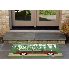 Lifestyle Indoor/Outdoor Porch Rug – Woody Wonderland Pine