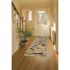 Lifestyle Indoor / Outdoor Runner Rug – Birds