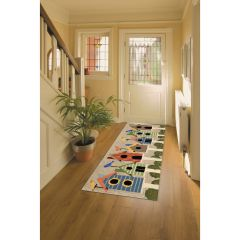 Lifestyle Indoor / Outdoor Runner Rug – Birdhouses