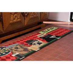 Lifestyle Indoor / Outdoor Runner Rug – Bar Patrol
