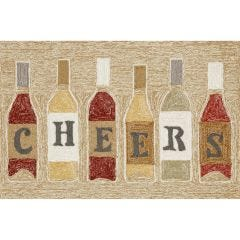 Lifestyle Indoor / Outdoor Runner Rug – Cheers