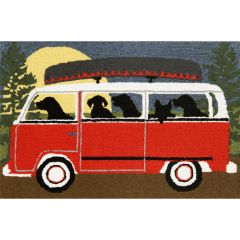 Lifestyle Indoor / Outdoor Runner Rug – Camping Trip