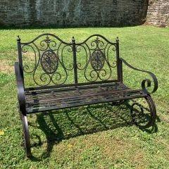 Victorian Rocking Bench