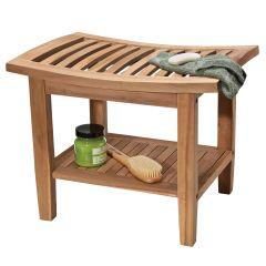 Teak Deluxe Bath Bench