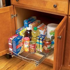 Roll-Out Cabinet Drawer (17 in. w  x 18 in. d)