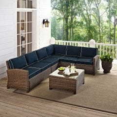 6 Seat Sectional Set (seats 6)