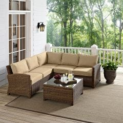 5 Seat Sectional Set (seats 5)