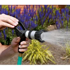 Fireman's Hose Nozzle with Pistol Grip