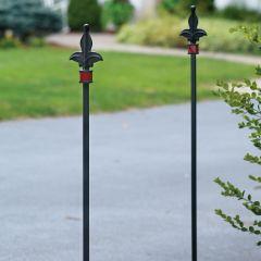 Wrought Iron Driveway Marker