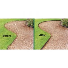 Steel Lawn Edging ( 4 inches high, 16 feet)