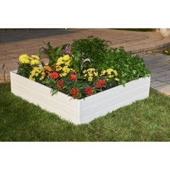 "Raised Garden Box (44.5""l x 44.5""w x 11.5""h)"