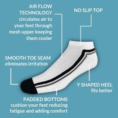 Low Cut Active Socks