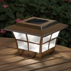 Prestige Solar Lighted Post Cap (Copper)
