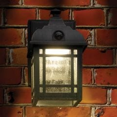 Wireless Motion Activated Craftsman Style Porch Light