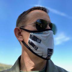 F-14 Pilot Face Mask