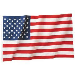 Nylon American Flag (6 by 10 feet)