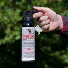 Bear Attack Deterrent with Holster