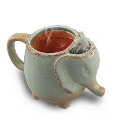 Rustic Elephant Tea Mug (Set of 2)