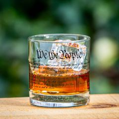 Constitution Whiskey Glass