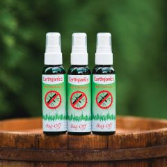 All Natural Earthganics Insect Repellent Spray (Set of 3)