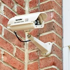 Solar Powered Dummy Security Camera