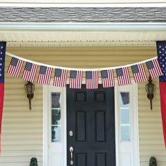 US Flag Garland