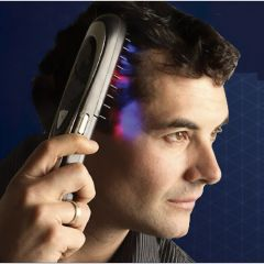Infrared Hair Restoration Comb and Scalp Massager
