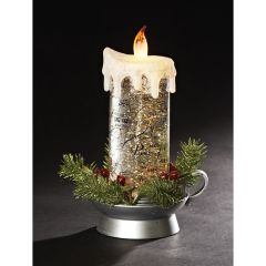 Quotes of Christmas Snowglobe Candle