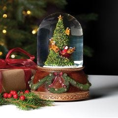 Santa Claus is Coming to Town Snowglobe