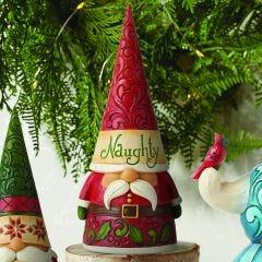 Jim Shore Naughty or Nice Christmas Gnome