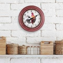 "12"" Rooster Wall Clock"