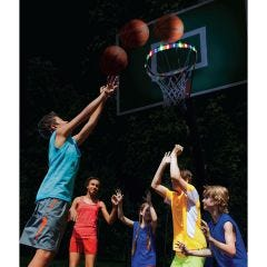 Solar Powered Basketball Hoop Lights