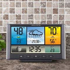 Easy-to-Read Digital Weather Station