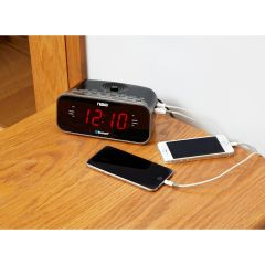 Easy-Read LED Alarm Clock