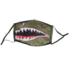 Flying Tigers Face Mask