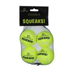 Squeaking Replacement Tennis Balls (4-Pack)