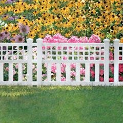 Garden Border Fence (Three 24 in. Sections)