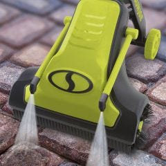 Battery-Powered Patio Cleaner