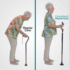 Walking Stick Posture Cane