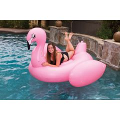 Elegant Jumbo Flamingo Pool Float