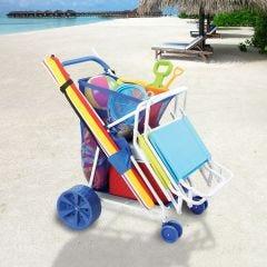 Deluxe Beach Cart