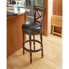 The Huntington Deluxe Swivel Bar Stool