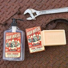 """Man Wash"" Soap Set"