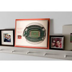5 Layer Stadium View NFL Wall Art