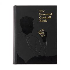 Essential Cocktail Genuine Leather Book
