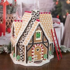 Resin Gingerbread House