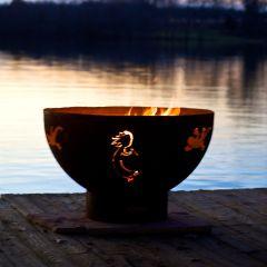 Kokepelli Designer Fire Pit