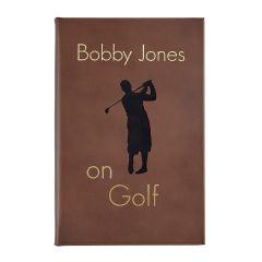 Bobby Jones on Golf Leather Book