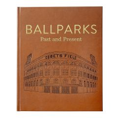 Ballparks Past and Present Genuine Leather Book