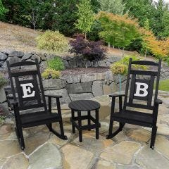 Personalized Monogram Rocking Chair